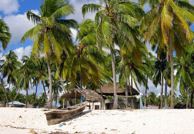 Zanzibar spiaggia