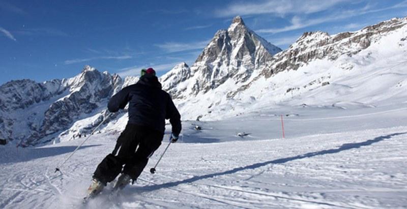 valle d'aosta piste da sci